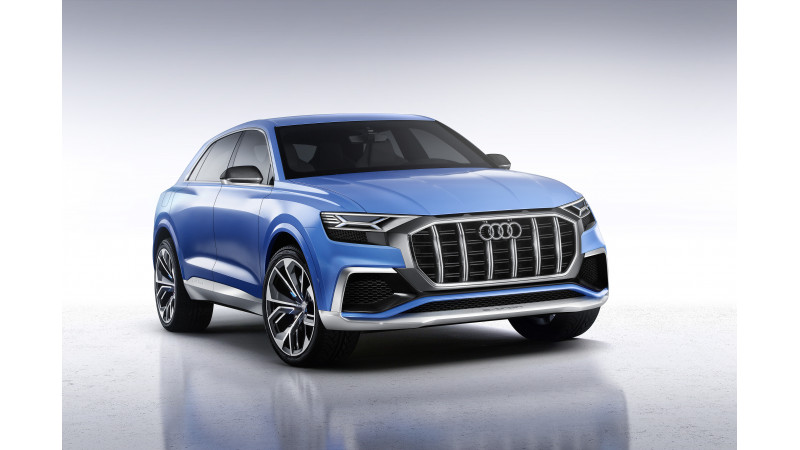 Audi revealed the Q8 Concept at the Detroit Motor Show