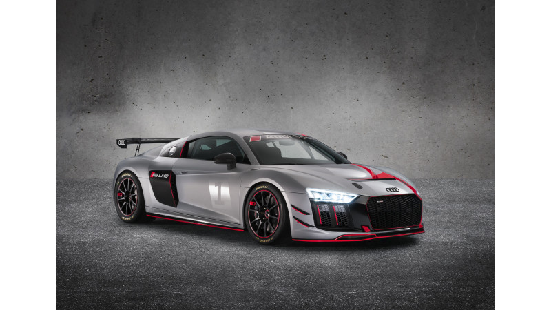 Audi R8 GT4 unveiled at New York Auto Show