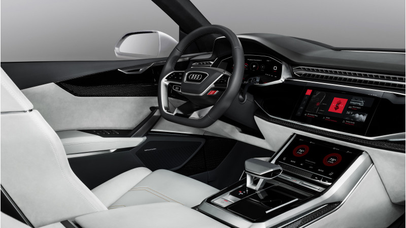 Audi showcases their latest infotainment systems with Android capability