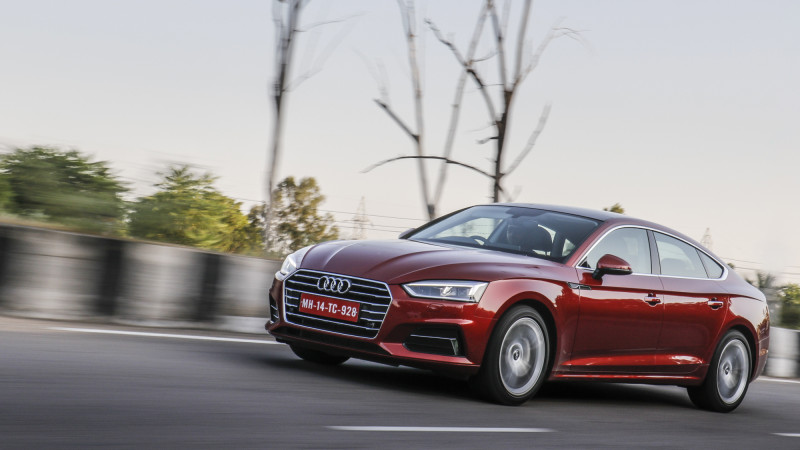 Audi A5 trio India launch tomorrow