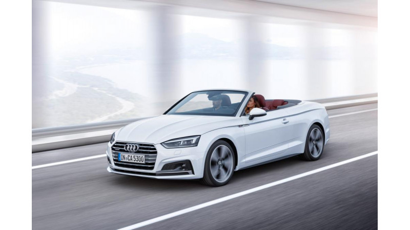 Audi A5 Cabriolet revealed ahead of 2016 Los Angeles Auto Show debut