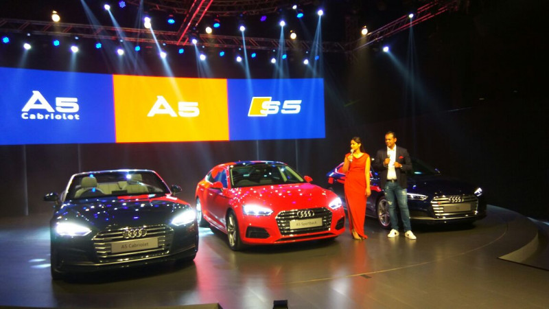 Audi launches A5 range in India