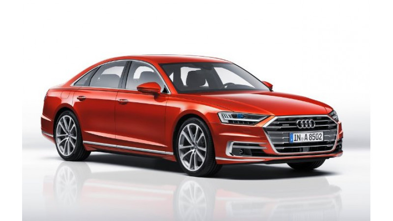 Top five highlights of the 2018 Audi A8