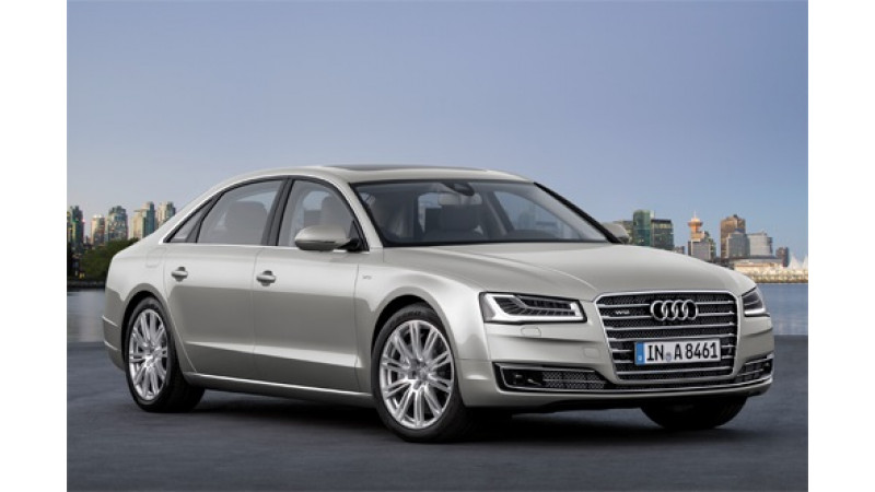 Audi announces recall of nearly 5000 cars in Europe to fix emission control software problem