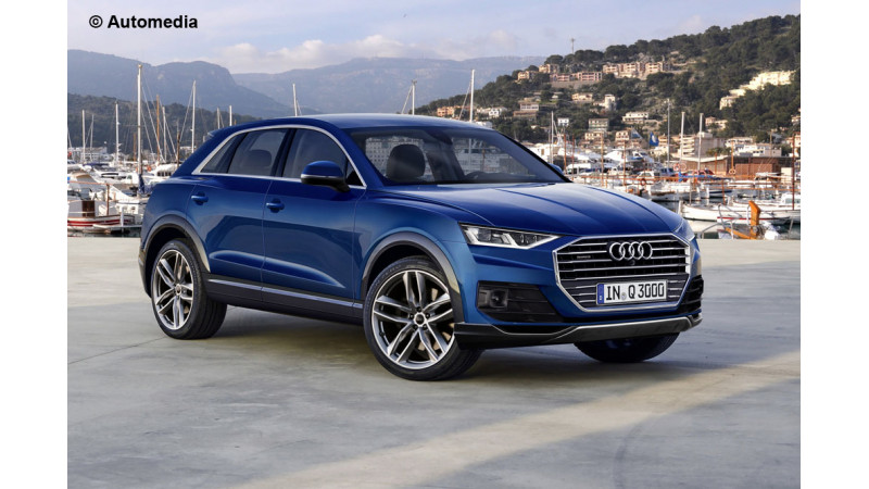 All-new Audi Q3 digitally rendered