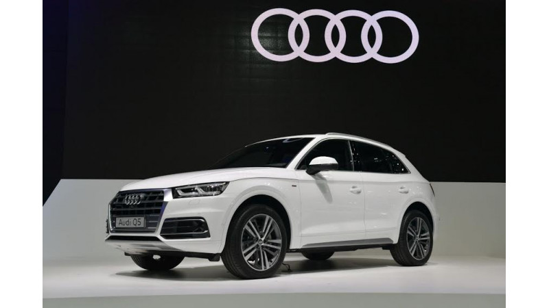 Audi unveils new Q5 and A5 Coupe at 2017 Bangkok Motor Show
