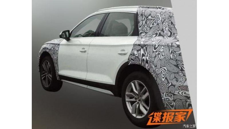 Audi Q5 spotted with longer wheelbase in China