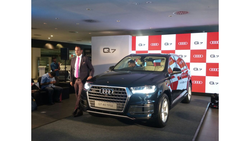 Audi launches Q7 petrol 40TFSI in India at Rs 67.76 lakhs