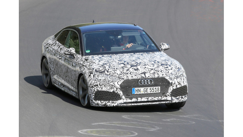 All-new Audi RS5 spotted testing
