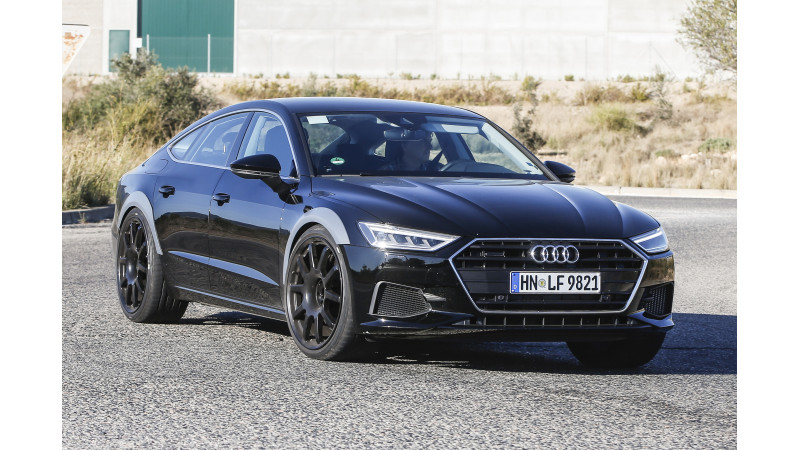 New Audi RS7 test mule images surface online