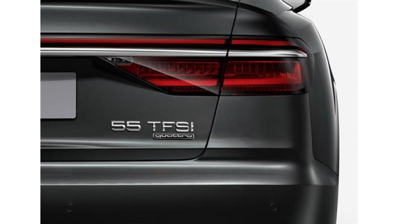 Audi introduces new nomenclature across models