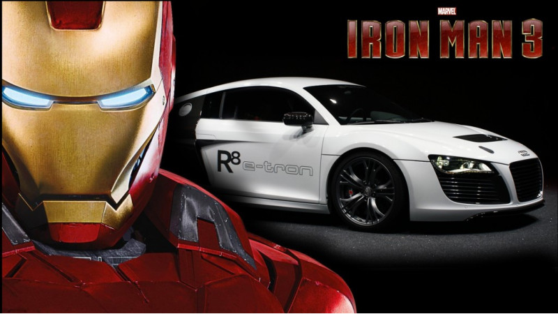 Audi models display their might in Iron Man 3