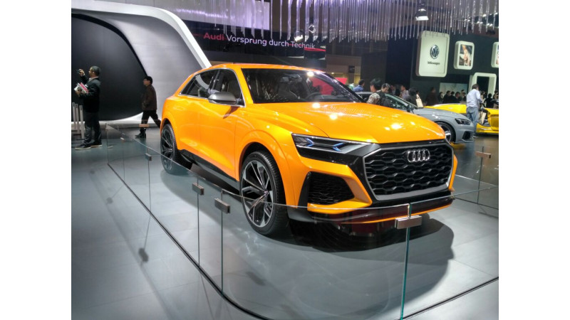 Tokyo Motor Show 2017: Audi Q8 concept is a big coupe SUV among kei cars