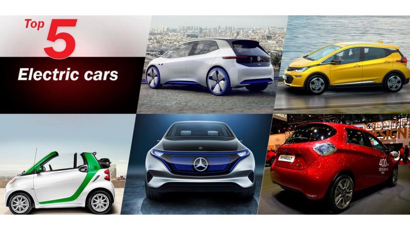 2016 Paris Motor Show: Five interesting electric cars