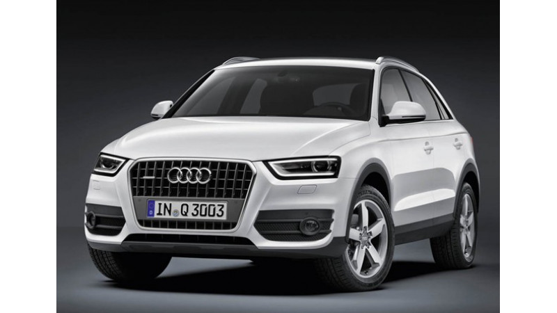 Audi Q3 Sport to be launched in India before 2013 end