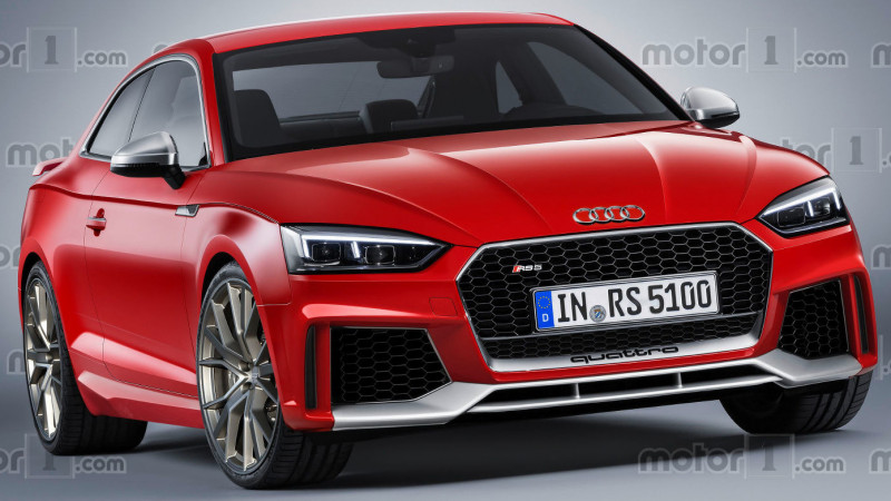 Next-gen Audi RS5 coupe rendered