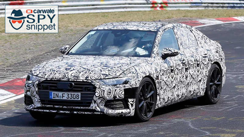 2019 Audi S6 spotted in Europe