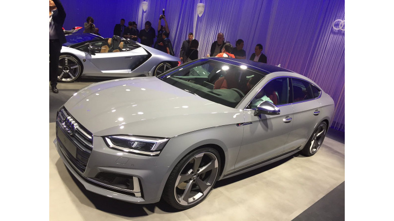 India-bound Audi A5 and S5 Sportback shown at 2016 Paris Motor Show