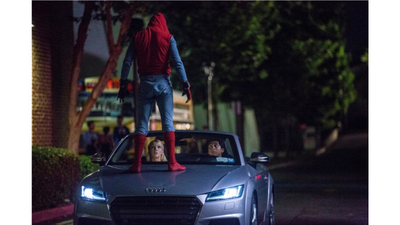 Spider-Man: Homecoming    will feature the new Audi A8 L