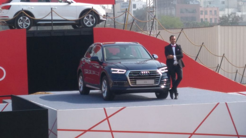 2018 Audi Q5 introduced in India for Rs 53.25 lakhs