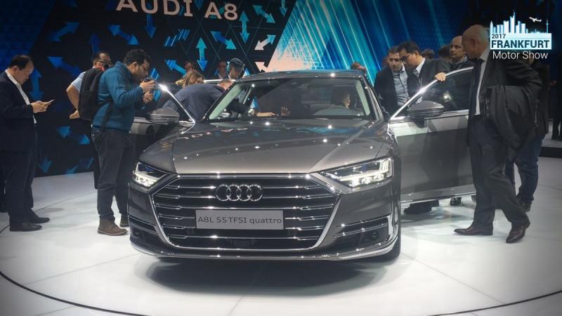 Frankfurt Auto Show 2017: Audi A8 showcased