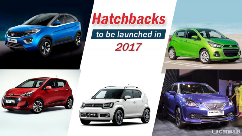 10 new hatchbacks to be launched in 2017