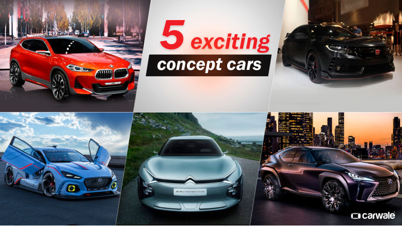5 exciting concepts at 2016 Paris Motor Show