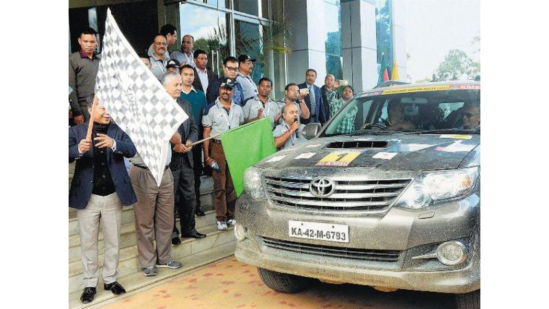 Bhutan-Bangladesh-India-Nepal (BBIN) friendship car rally reaches Tripura