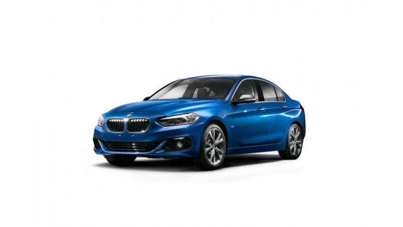 BMW 1 Series sedan goes official for China
