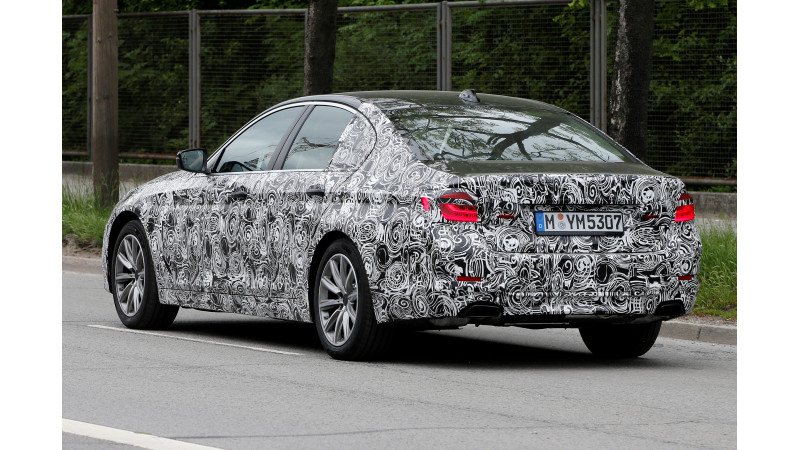 Upcoming BMW 5 Series spotted on test