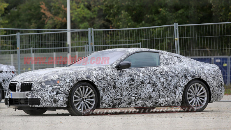 BMW 8 Series test car sighting indicates imminent comeback