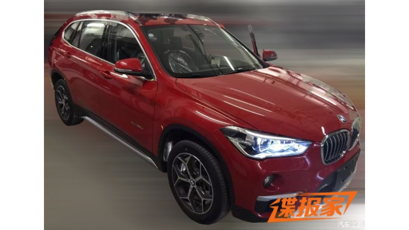 BMW X1 spotted in long wheelbase form