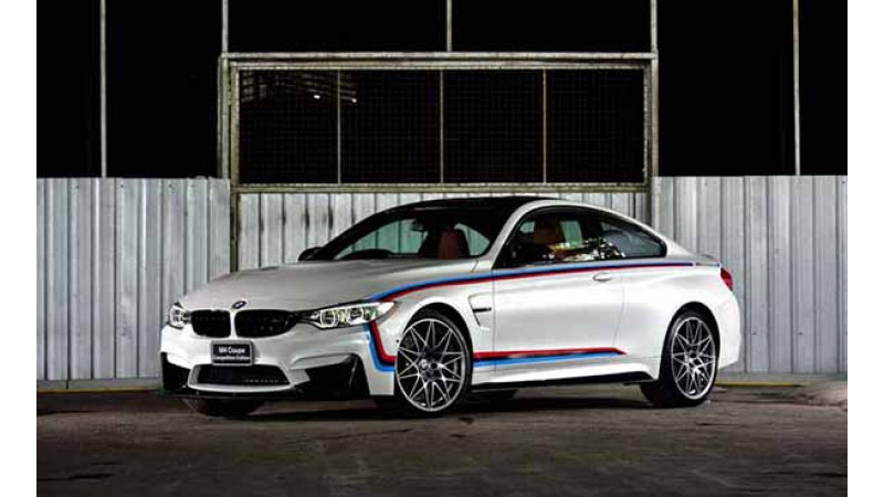 BMW introduces the M4 Competition Edition for the Thai market