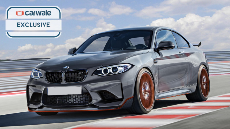 Rendered: the BMW M2 CSL with performance upgrades