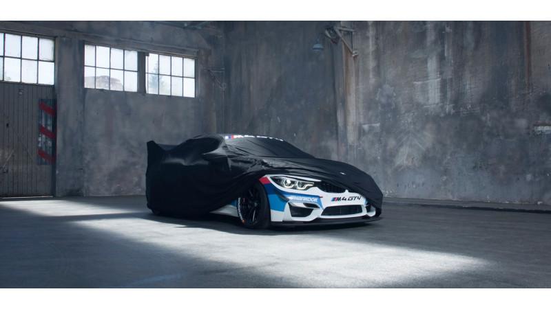 BMW teases M4 GT4 ahead of debut