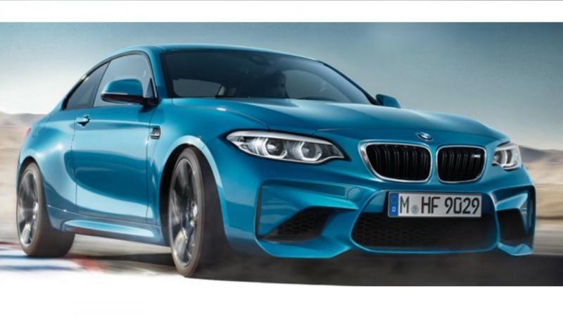 2018 BMW M2 leaked online