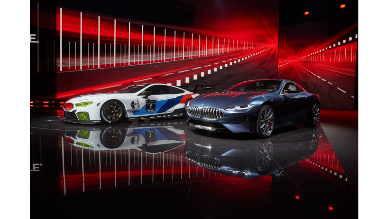 Frankfurt Motor Show 2017: BMW reveals the M8 GTE race car