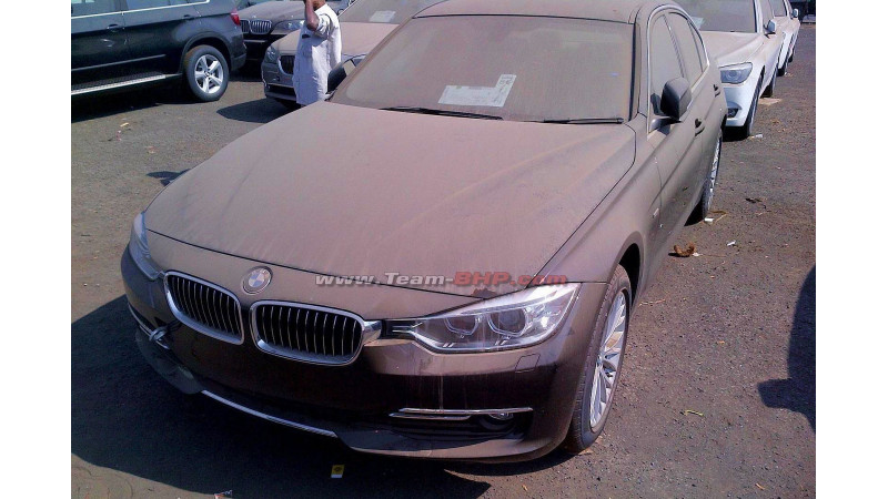 2012 Bmw F30 3 Series Spotted In India Cartrade