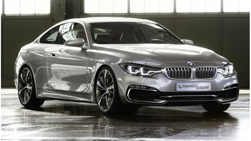 BMW 4-Series Coupe with ÔÇÿM Performance PartsÔÇÖ showcased