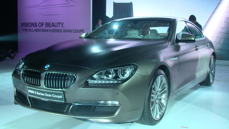 Bmw Brings The Much Fawned Upon 6 Series Gran Coupe To India At An