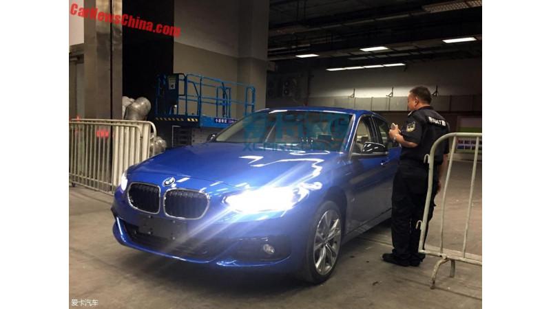 China-spec BMW 1 Series sedan spotted
