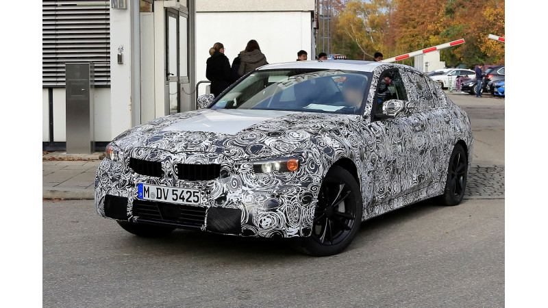 BMW 3 Series spotted on test again