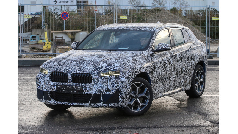 BMW X2 prototype spotted on test