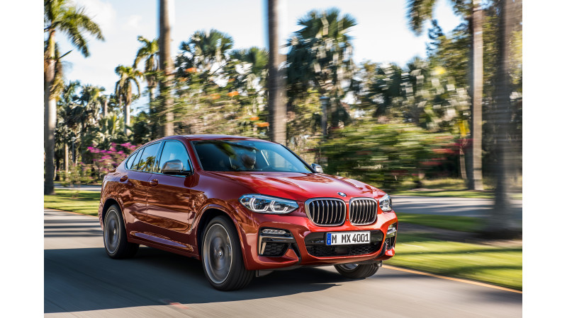 India-spec 2019 BMW X4 spied testing