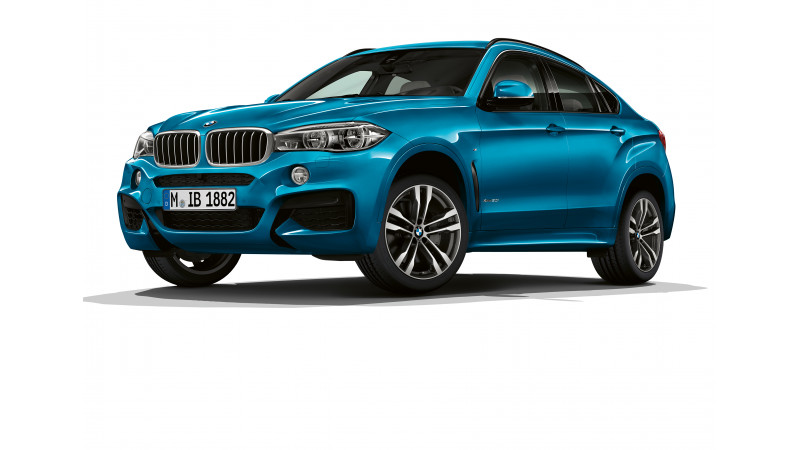 BMW reveals details for the special edition X5 and X6 M Sports Edition