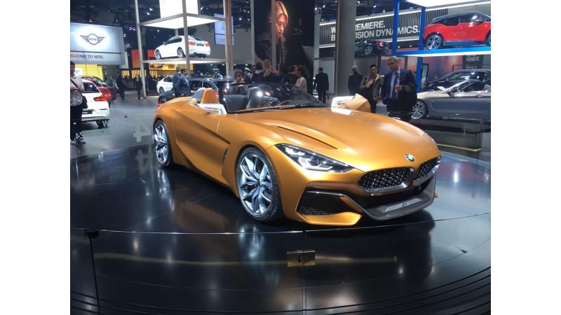 Frankfurt Auto Show 2017: BMW reveals the Z4 Concept