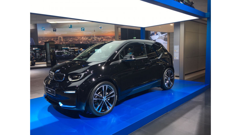 Frankfurt Auto Show 2017: BMW globally unveils the i3s
