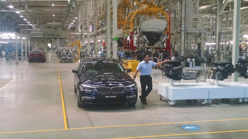 BMW launches Skill Next initiative at their Chennai plant