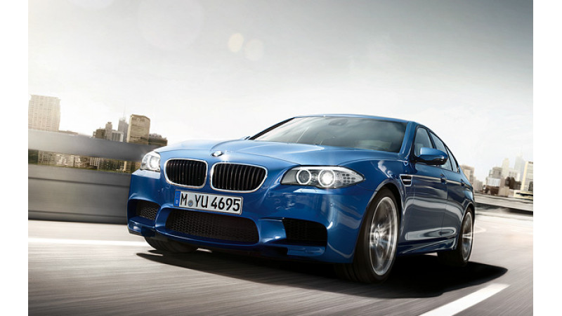 BMW M5 officially showcased; likely to mark presence in 2013