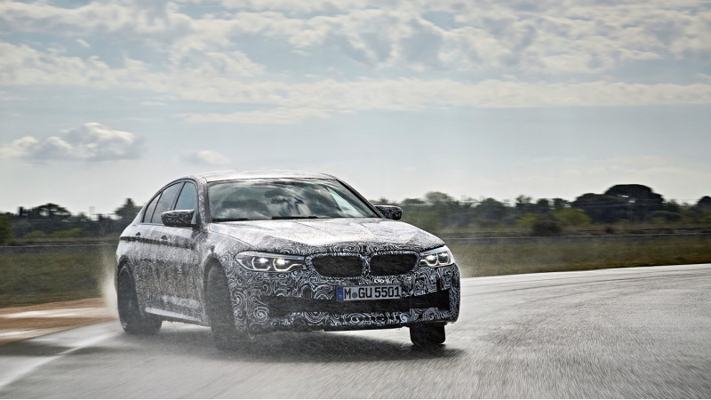 BMW announces xDrive for next-gen M5